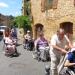 en route vers l'abbaye de Cadouin